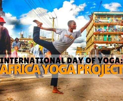 Lululemon ambassador Danielle Cosgrove is  raising money for the Africa Yoga Project  at Orlando event venue, The Acre- June 21 @ 6pm