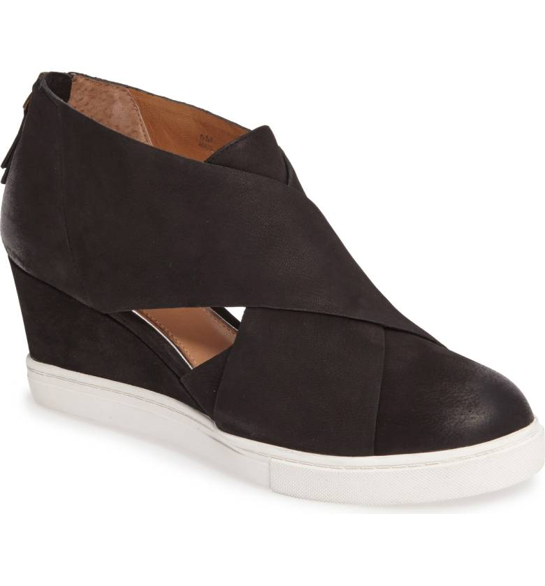 What do you get when you cross a high-top sneaker with a pump? This  'Faith' wedge from Linea Paolo ... the ultimate in style & comfort for your next vacay.$119