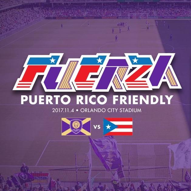 11/4 @ 7:30: Orlando City vs Fuerza Puerto Rico
