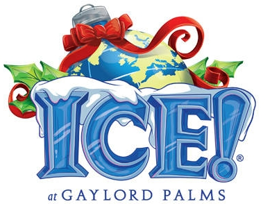 ICE! at Gaylord Palms in Kissimmee, thru Jan 7th