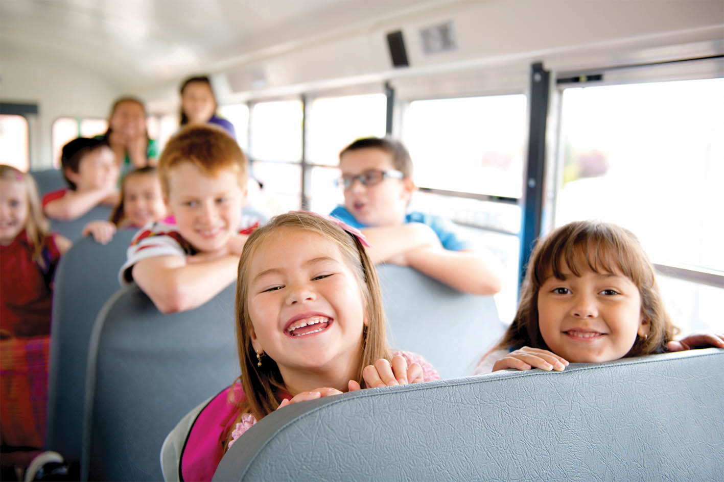 Ritchies safely transport 1000's of kiwi kids to school daily