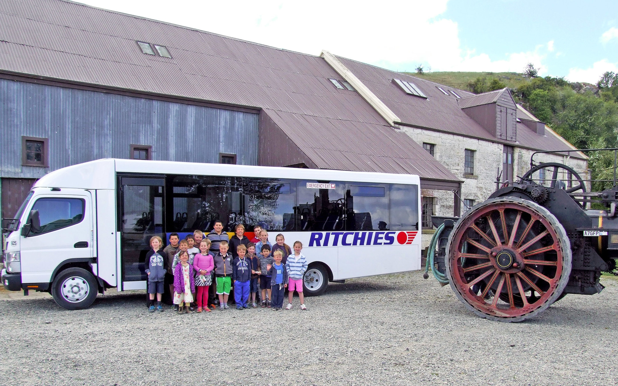 Ritchies has the right size bus for your school group