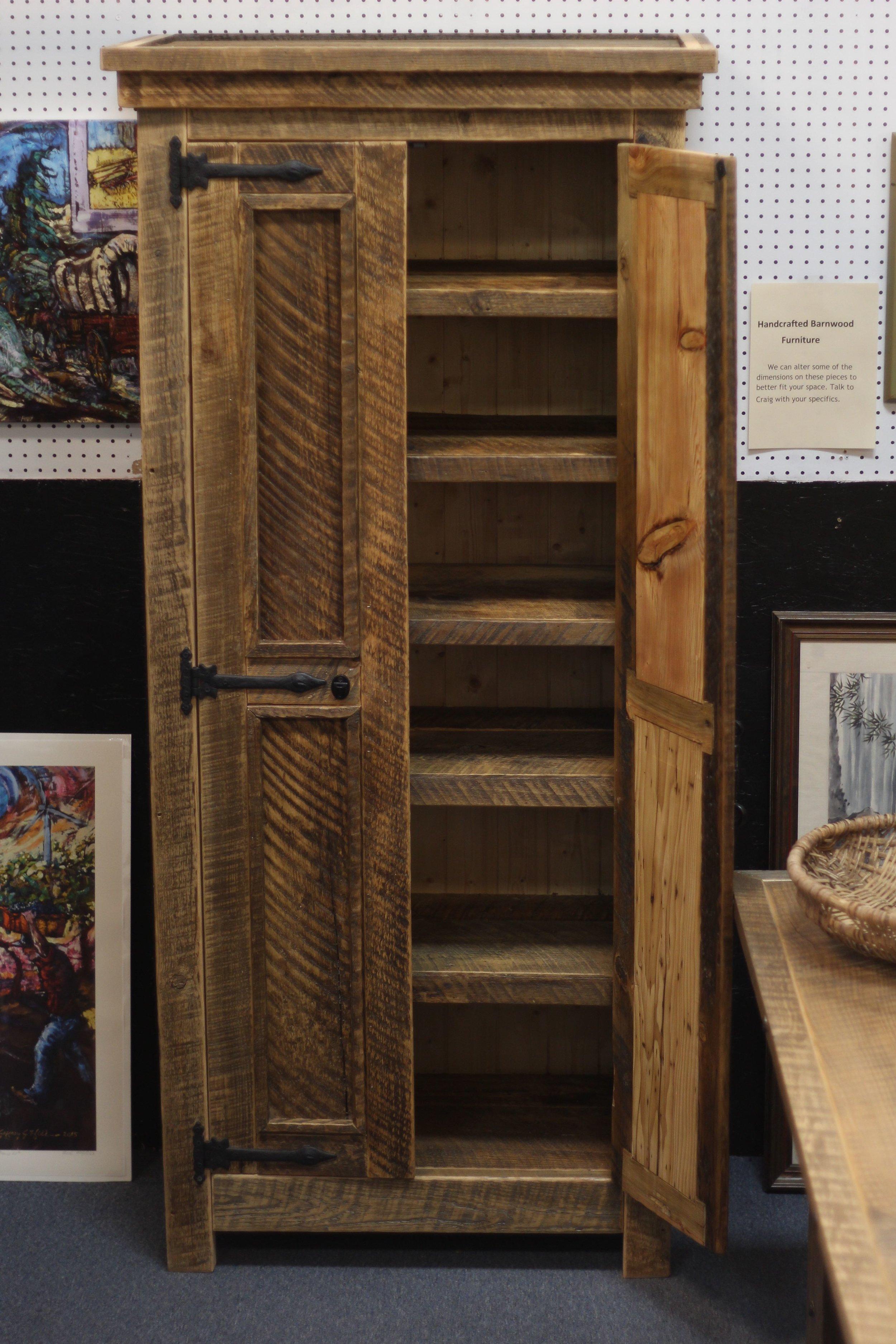Barnwood Cabinet $1250