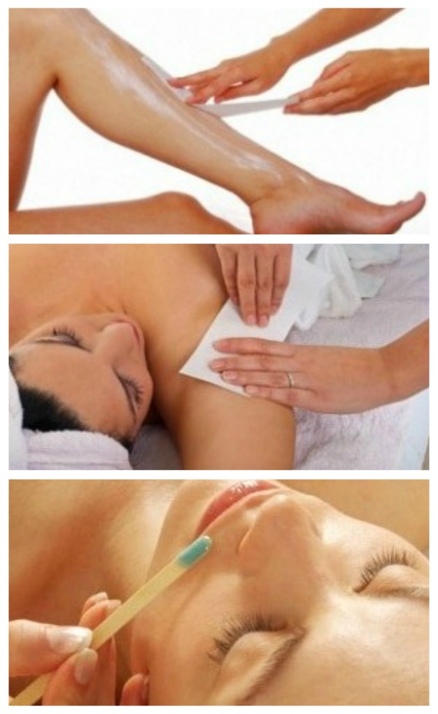 Waxing Services for the entire body