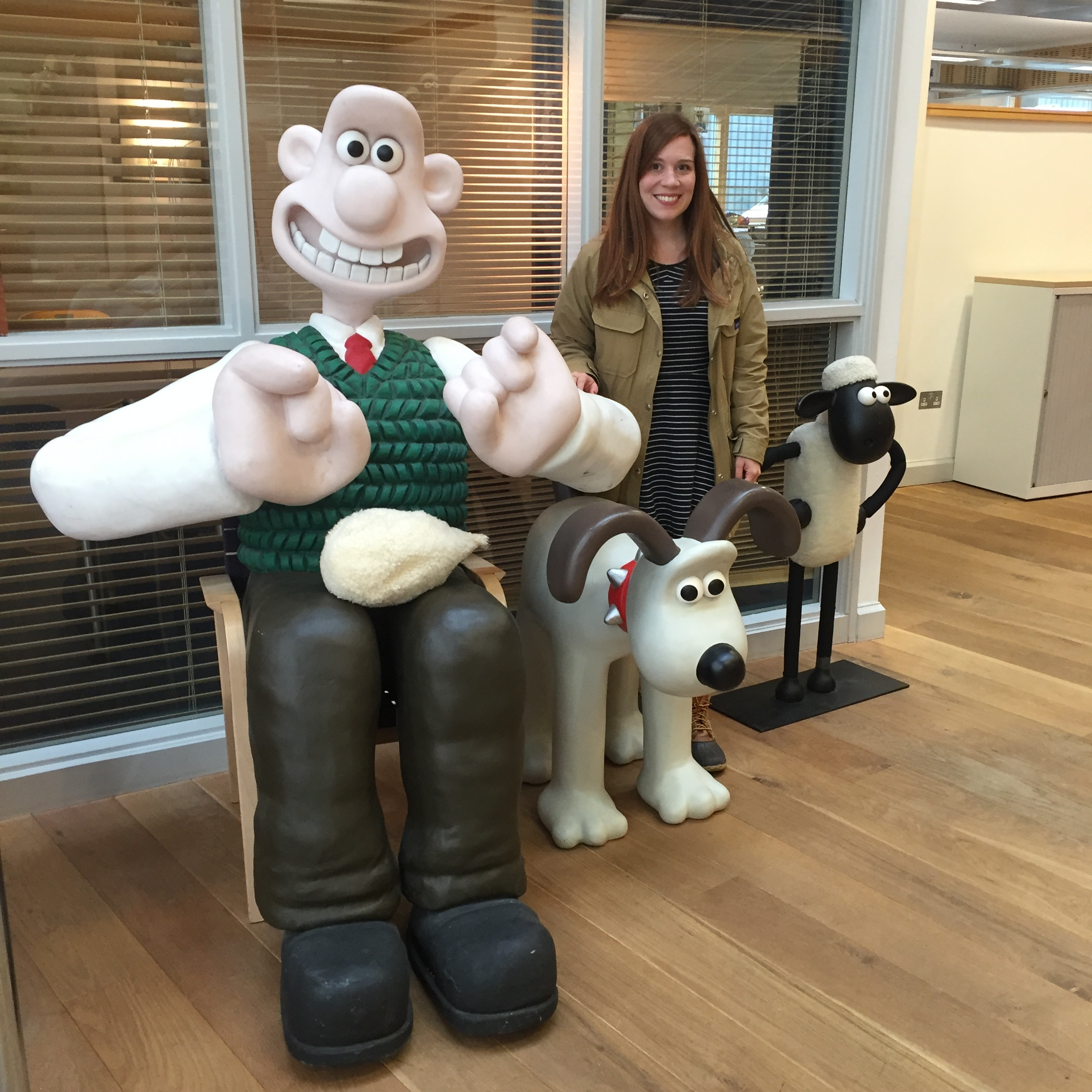 Wallace, Gromit & Shawn