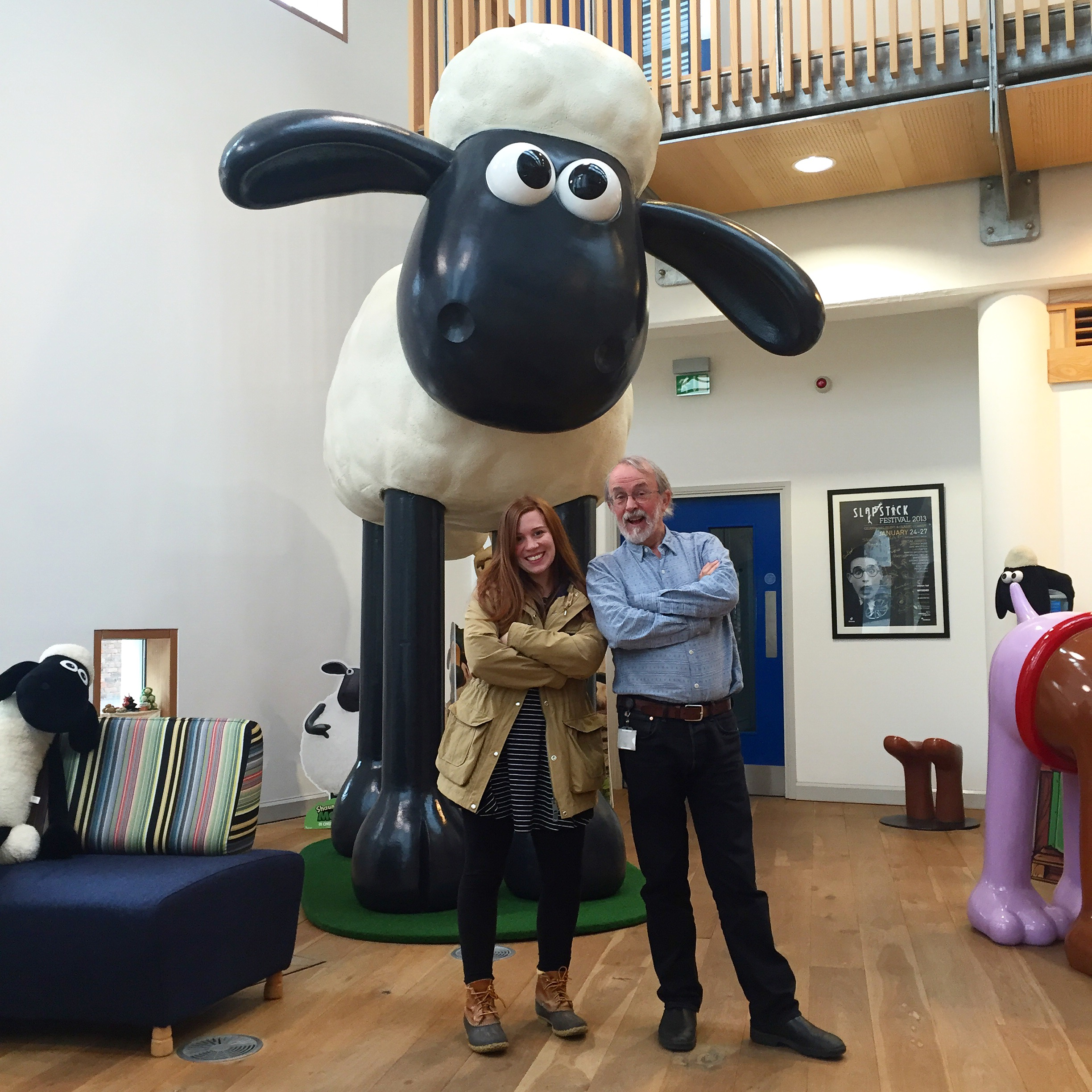 I happened to be attending a wedding in Bristol in October, and got the chance to check out Aardman Animation by the one and only Peter Lord!!! What an absolute treat. Also giving a shout out to Nicky Instan! Thank you!