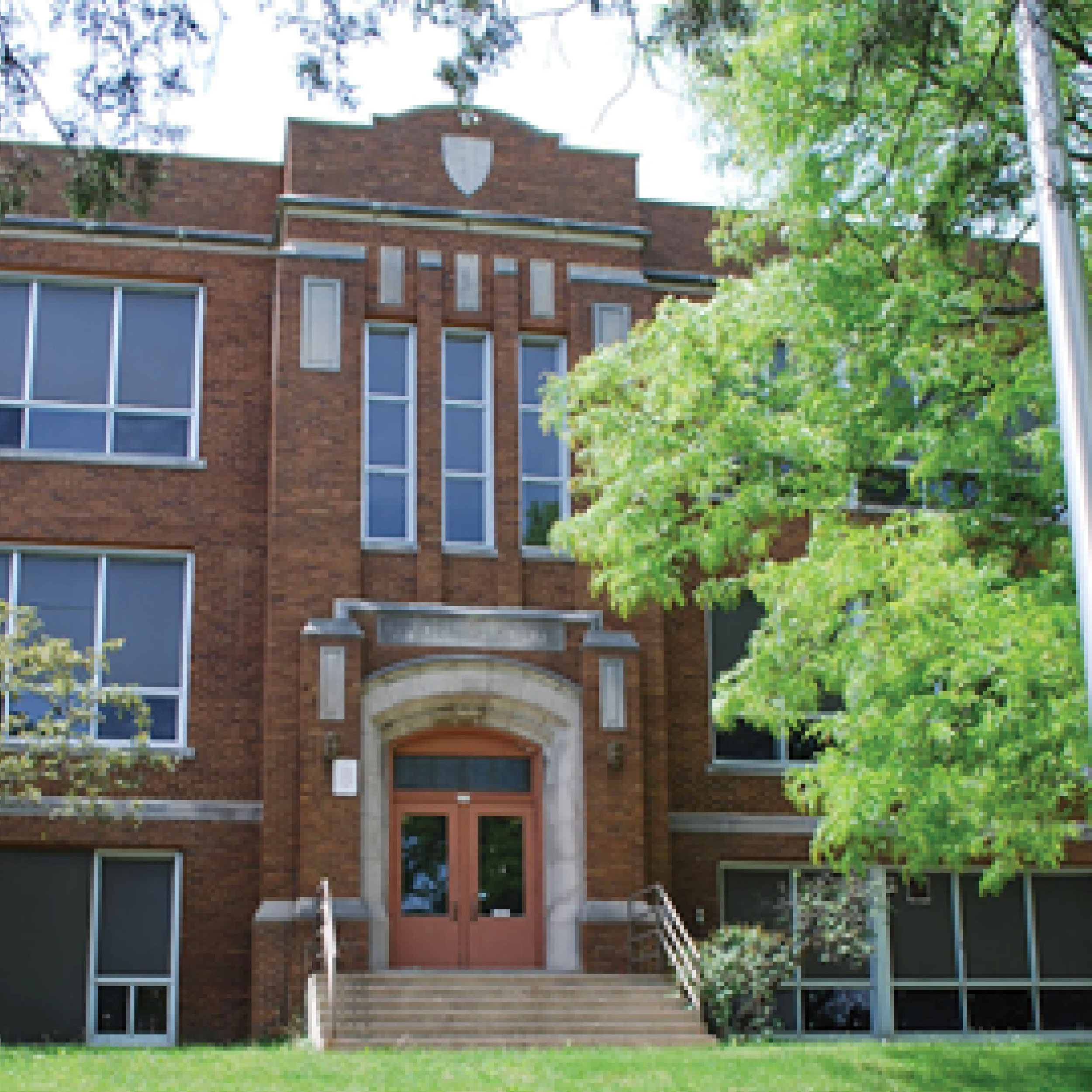 RESIDENTIAL AWARD WINNER 2017   Oconomowoc High School (1923)   623 Summit Ave. | Oconomowoc, WI   WTHP project info    Wisconsin Historical Society Record