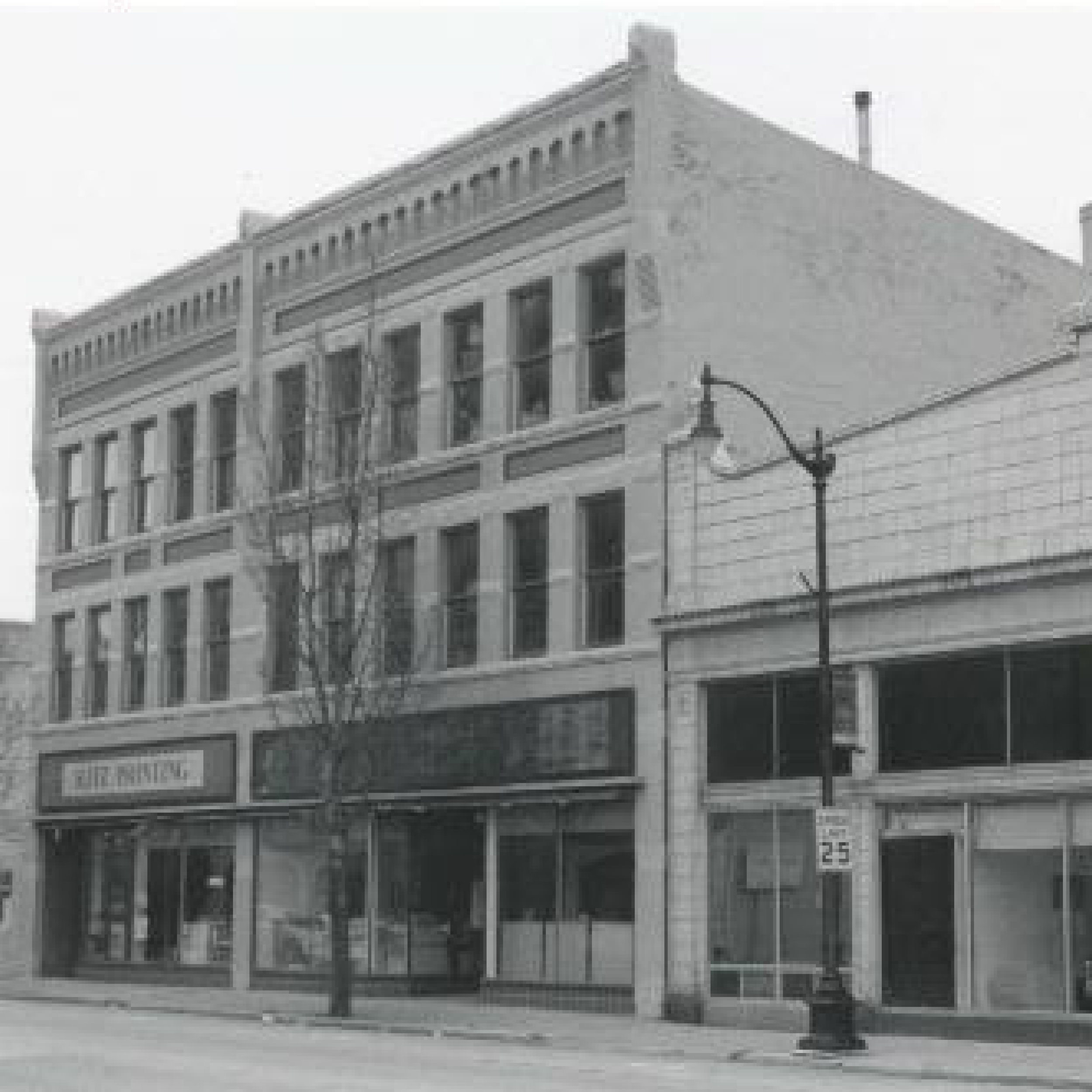 BUSINESS AWARD WINNER 2017   Frank Percey Fur & Gun (1900)   531 N. Main St. | Oshkosh, WI   WTHP project info    Wisconsin Historical Society Record