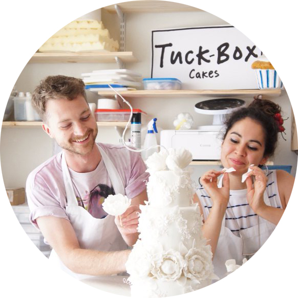 Chris Murphy of Tuck-Box Cakes