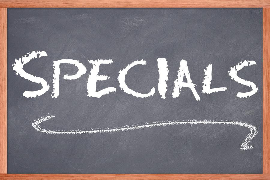 specials sign
