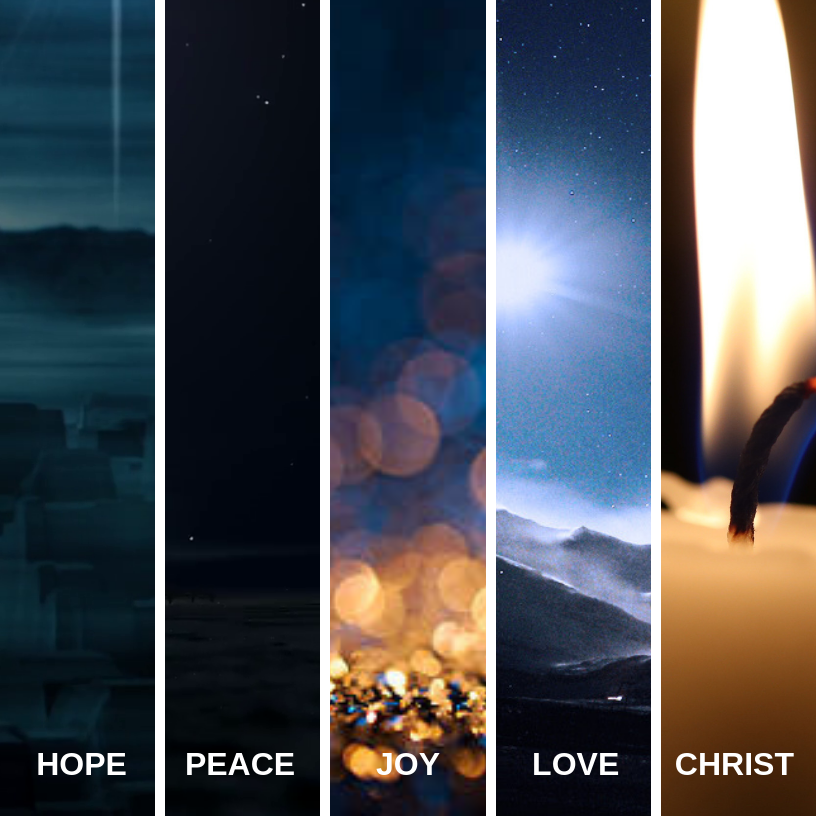 Advent Readings - Follow the readings for each Sunday!