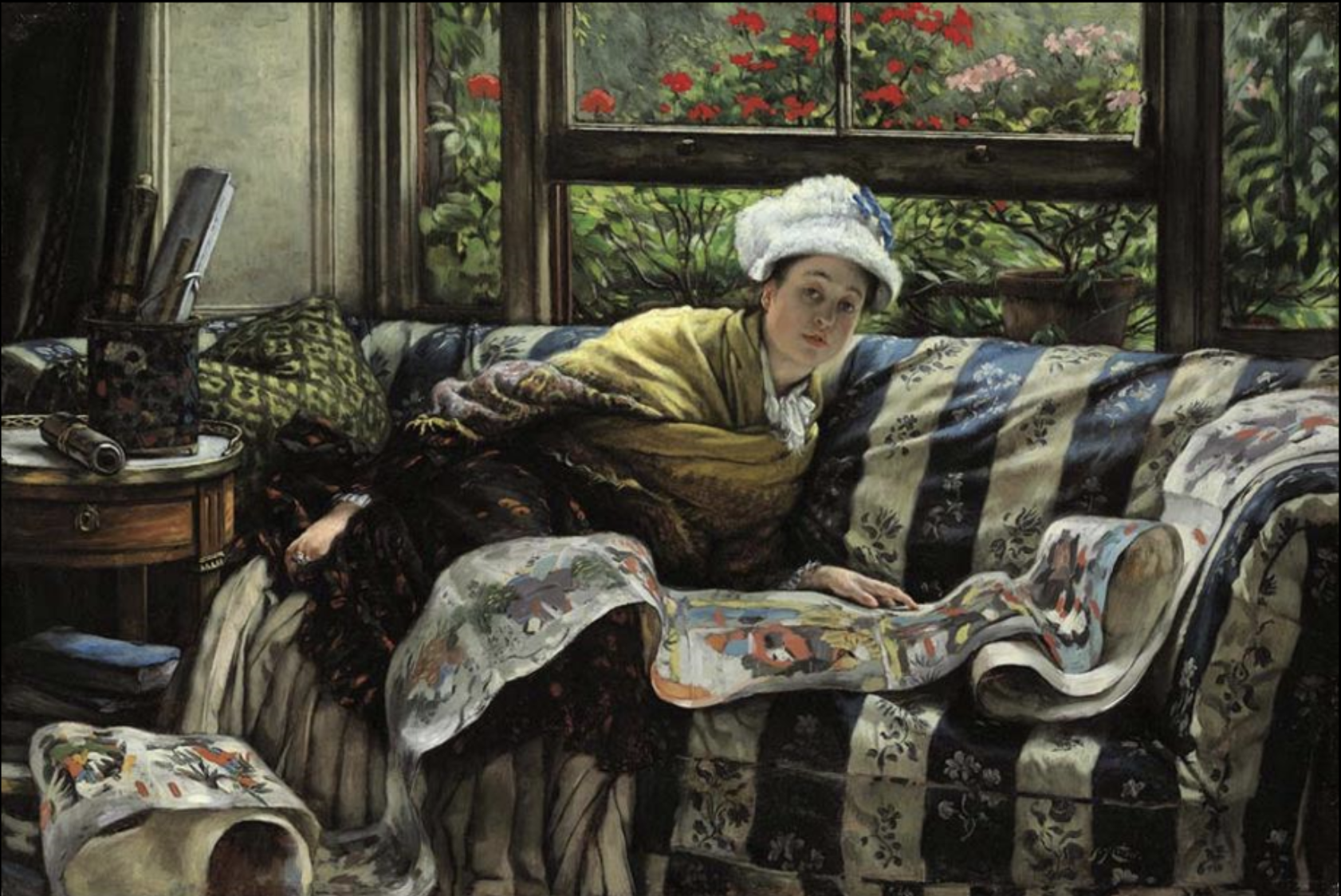 The Japanese Scroll, James Jacques Tissot