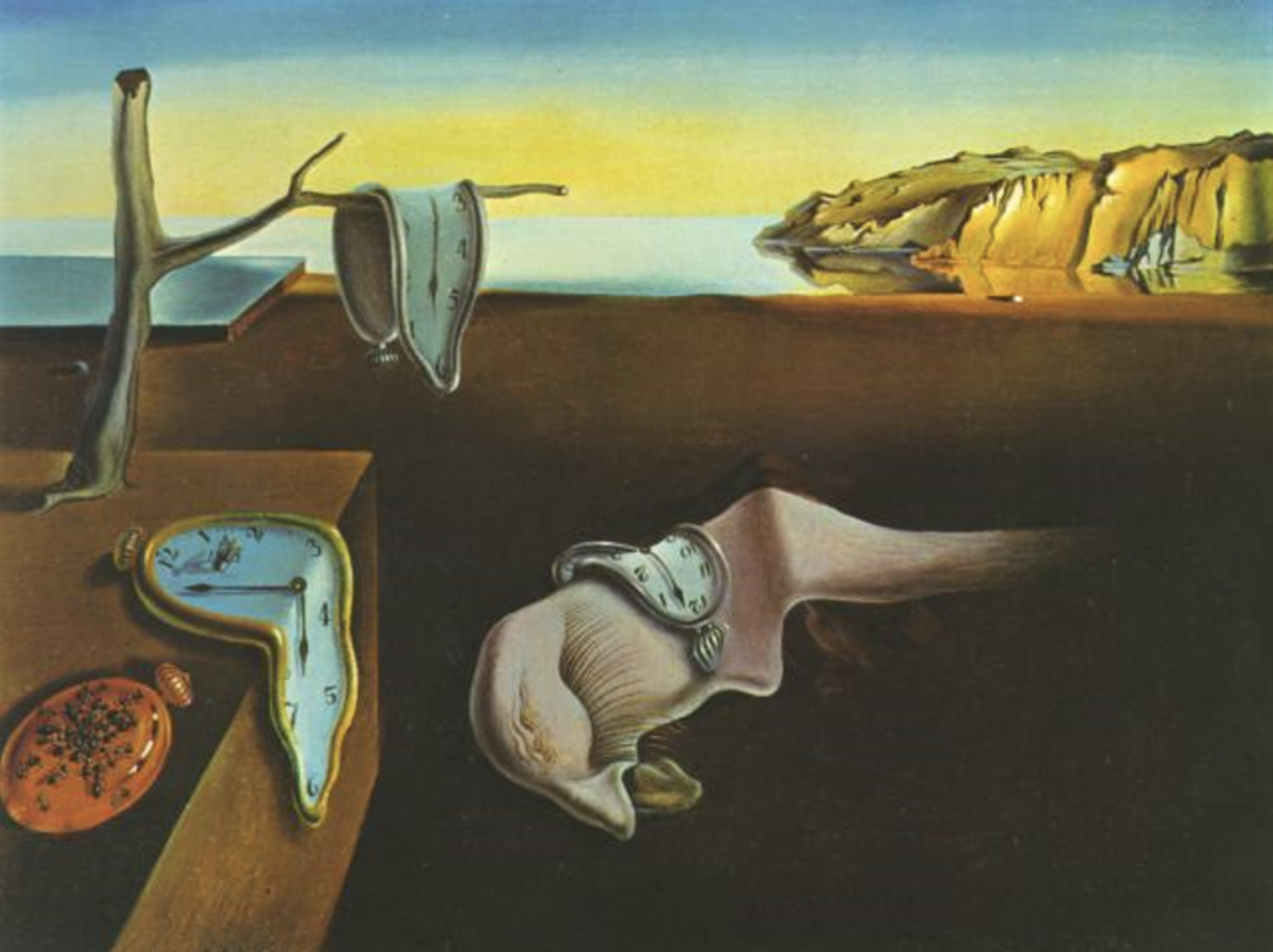 The Persistence of Memory,  Salvador Dali, 1931