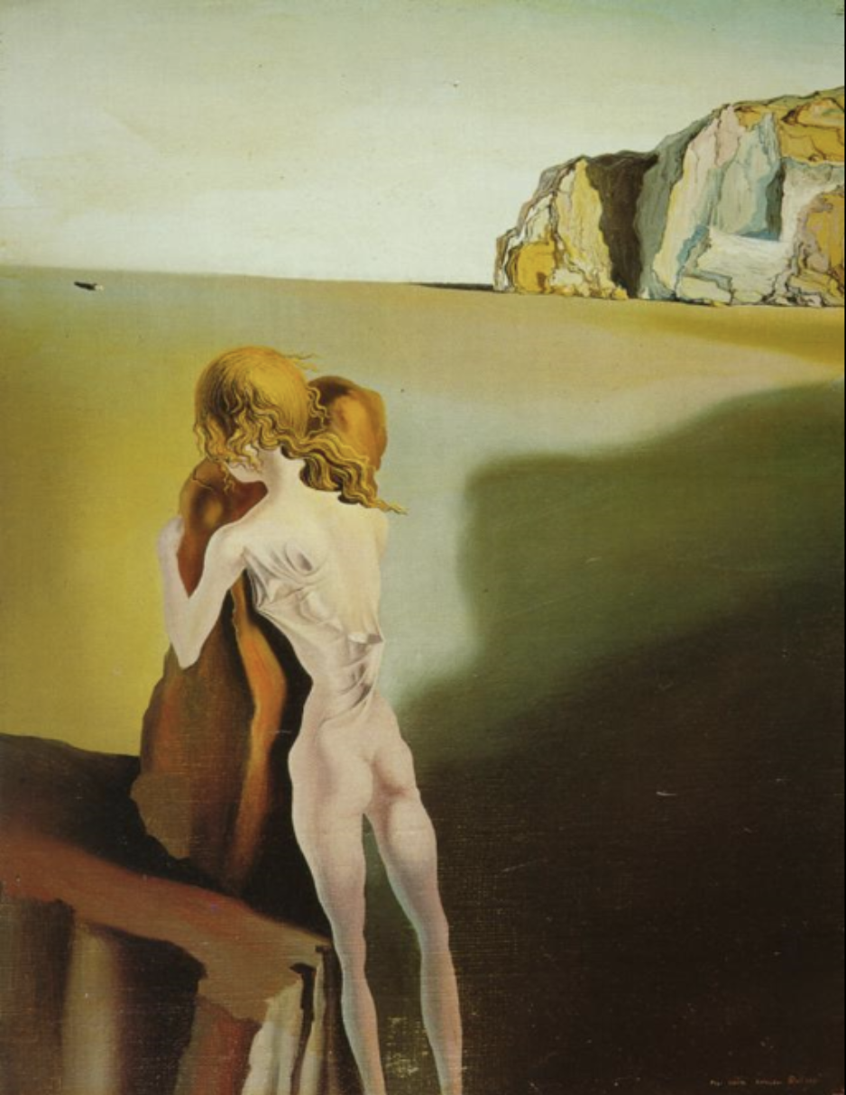 Diurnal Illusion: The Shadow of a Grand Piano Approaching, Salvador Dali,  1931