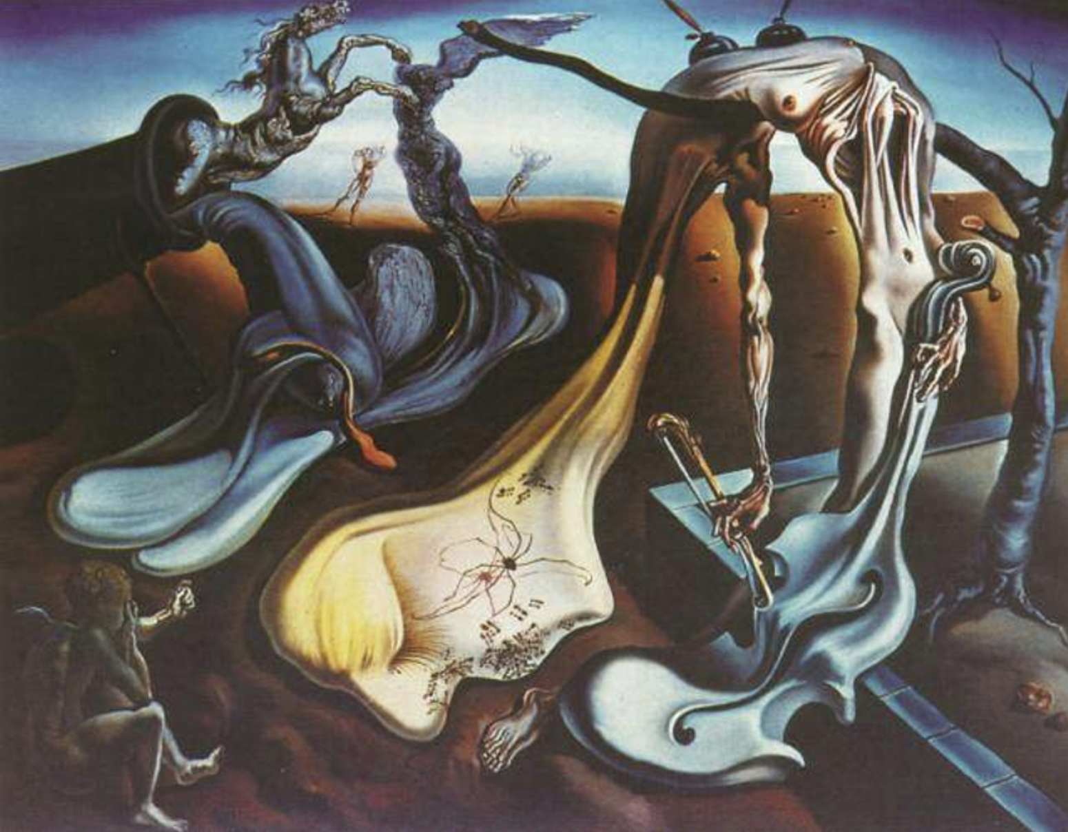 Daddy Longlegs of the Evening - Hope! , Salvador Dali, 1940