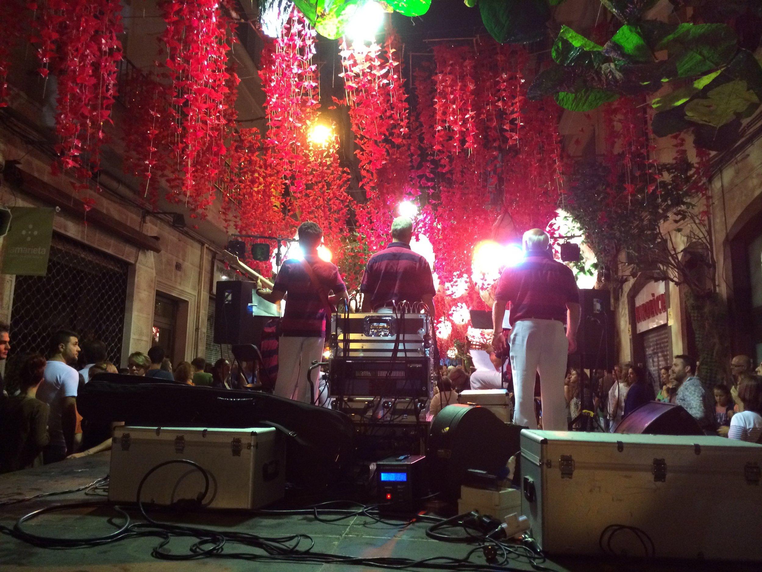 Red Seas (Festa Major de Gràcia), Barcelona, 2014.