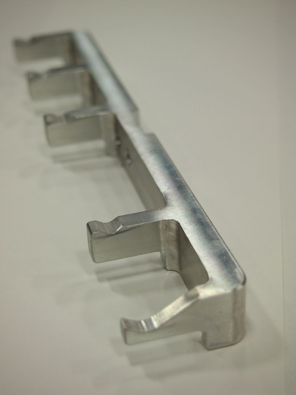 CNC Milled Part - Automation Loading Finger - Material: 6061 Aluminum
