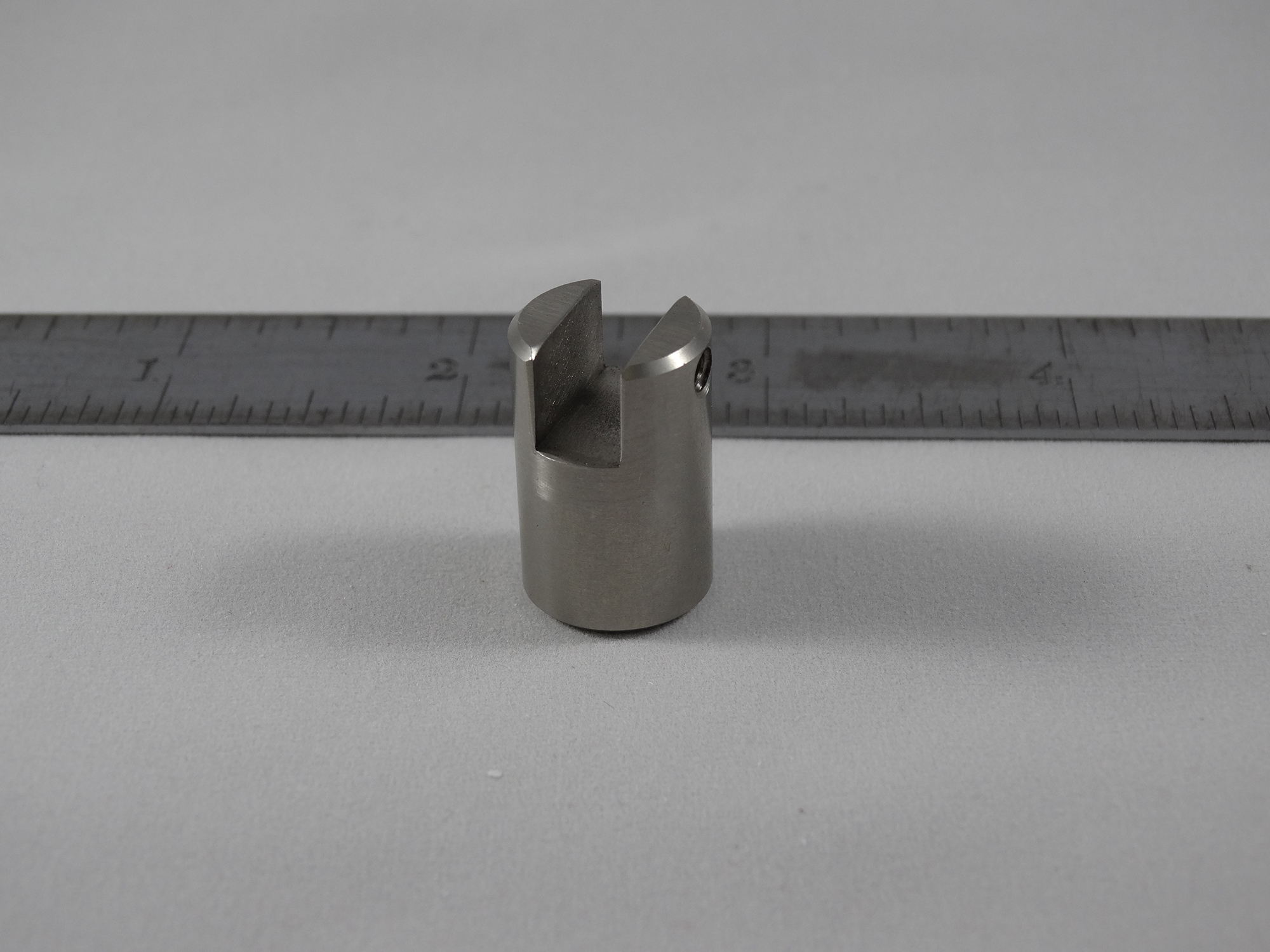 CNC Turned Part - Material: 303 Stainless Steel