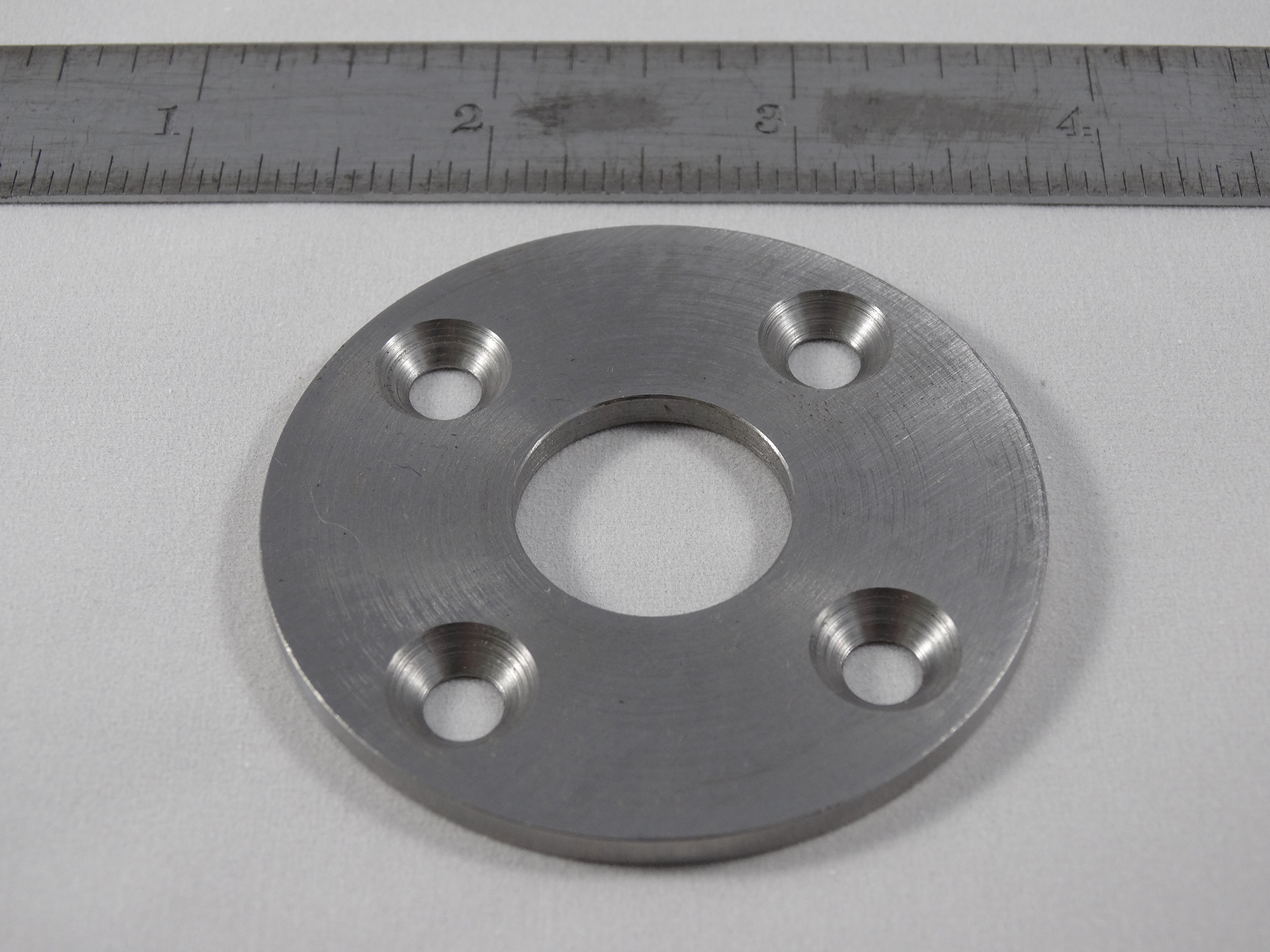 CNC Turned Washer - Material: 1117 Steel