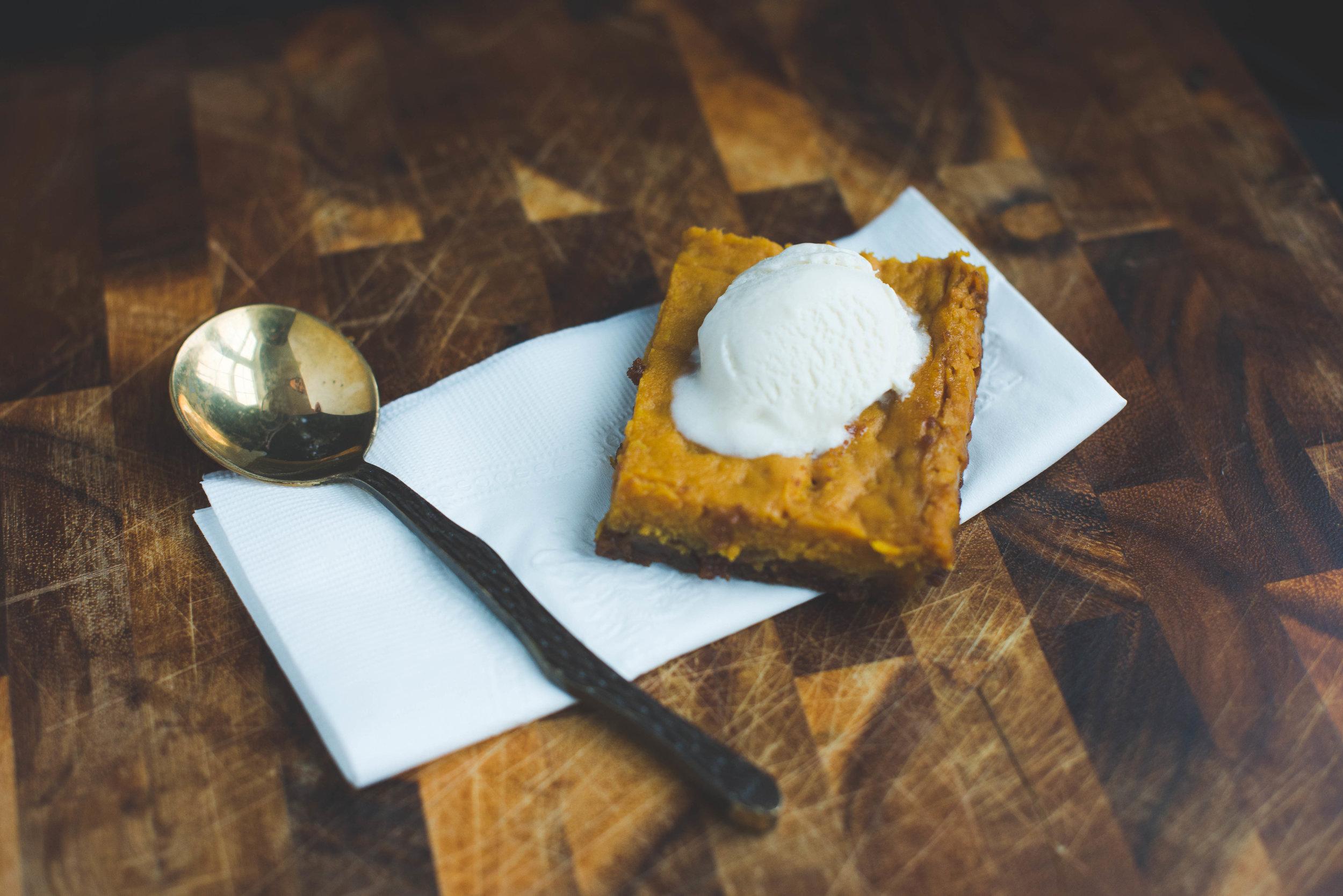 pumpkin toffee bars