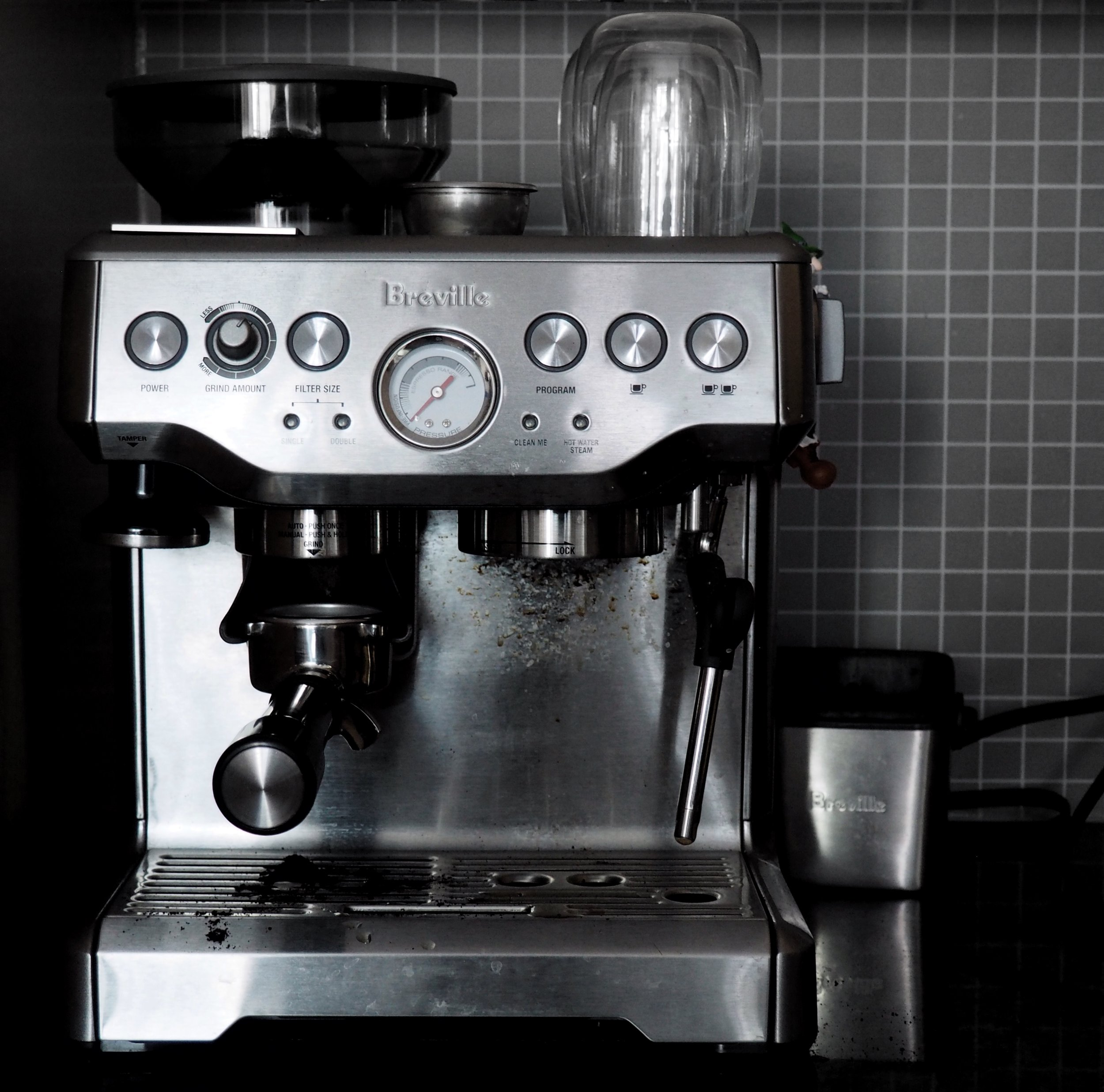 breville espresso machine coffee