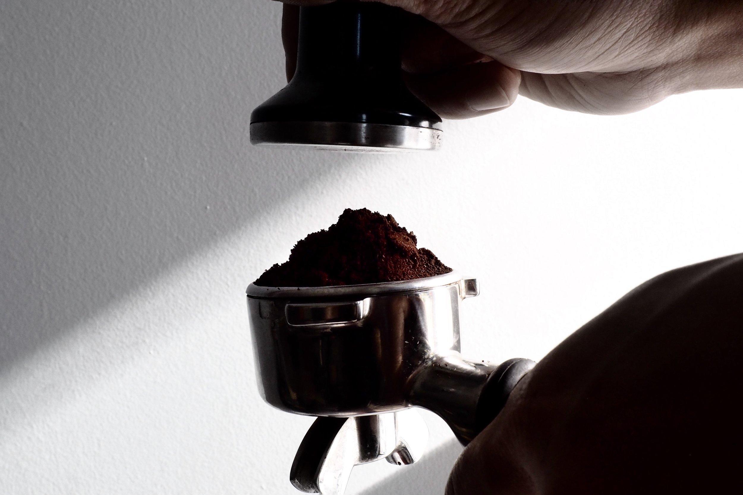 espresso coffee tamper