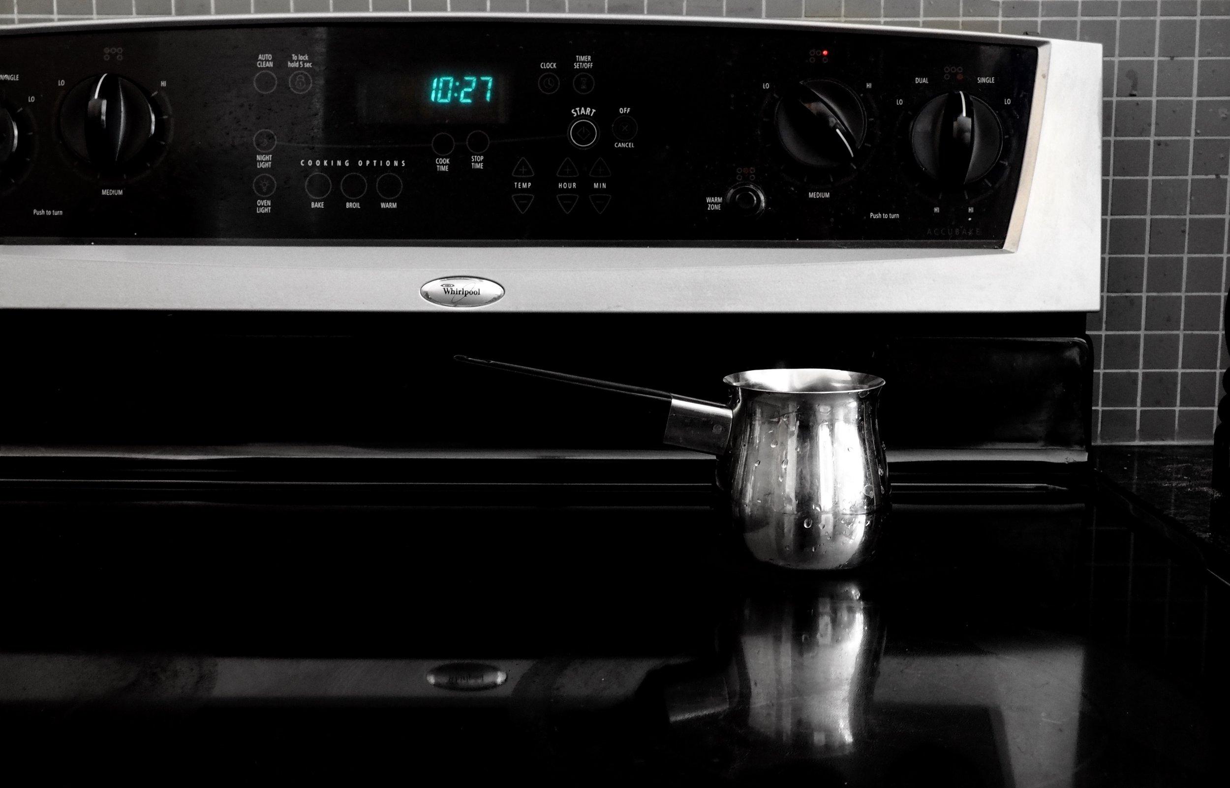 turkish coffee stove