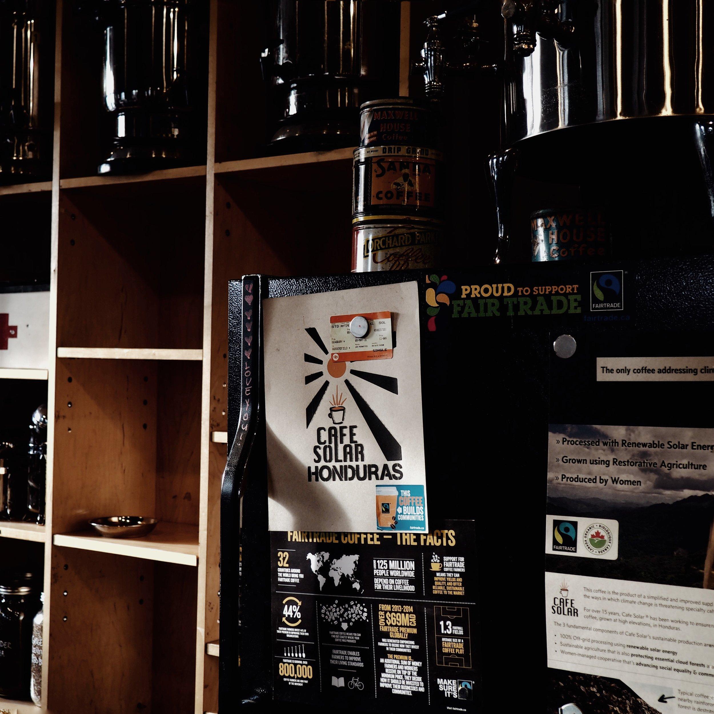 cafe solar honduras coffee