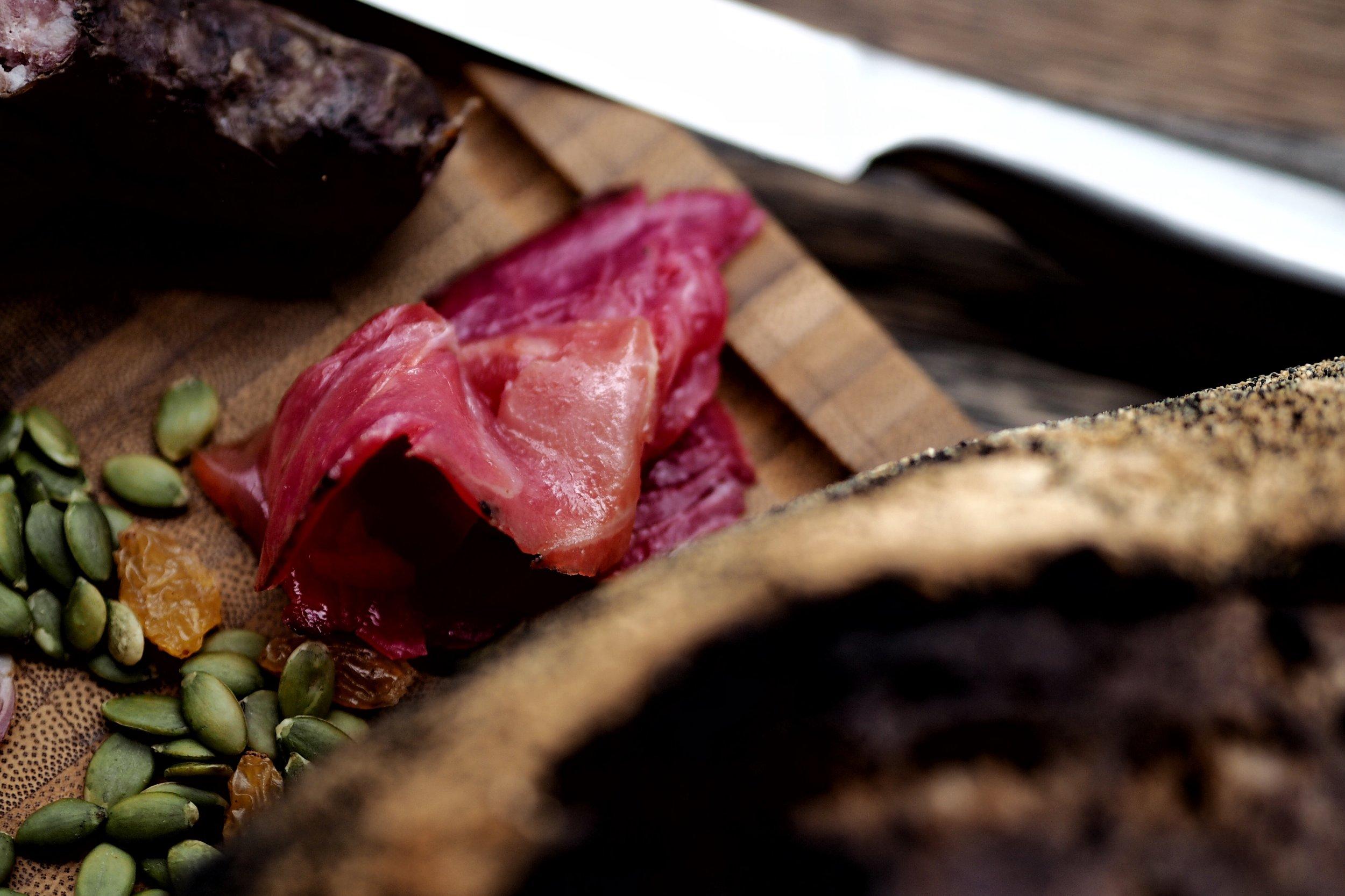 Beet-cured Gravlax from Karelia Kitchen