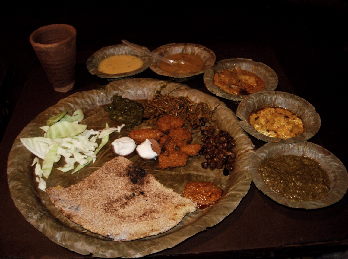 india-Rajasthan-thali
