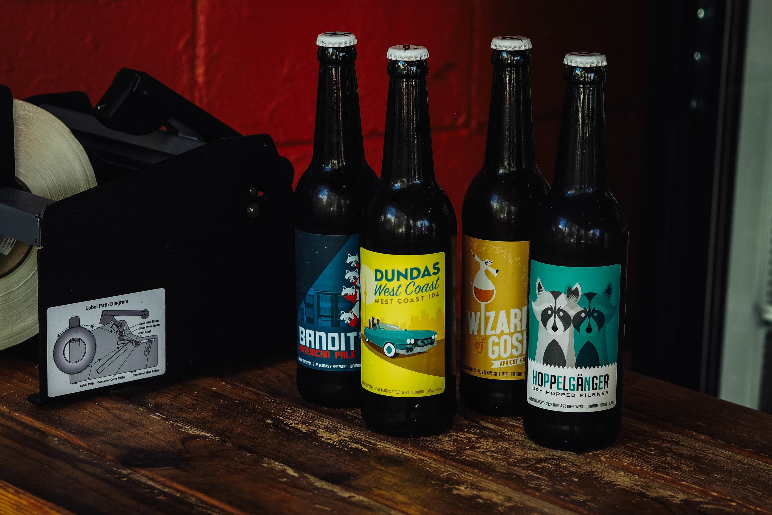bandit brewery toronto beer