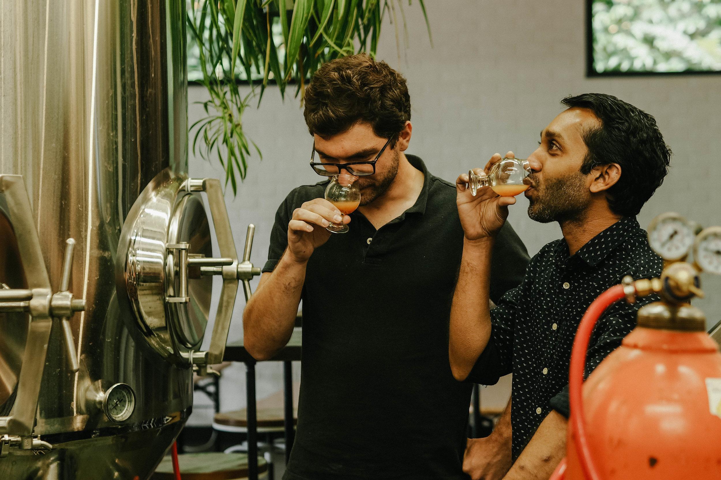 Stephane Dubois and Shehzad Hamza