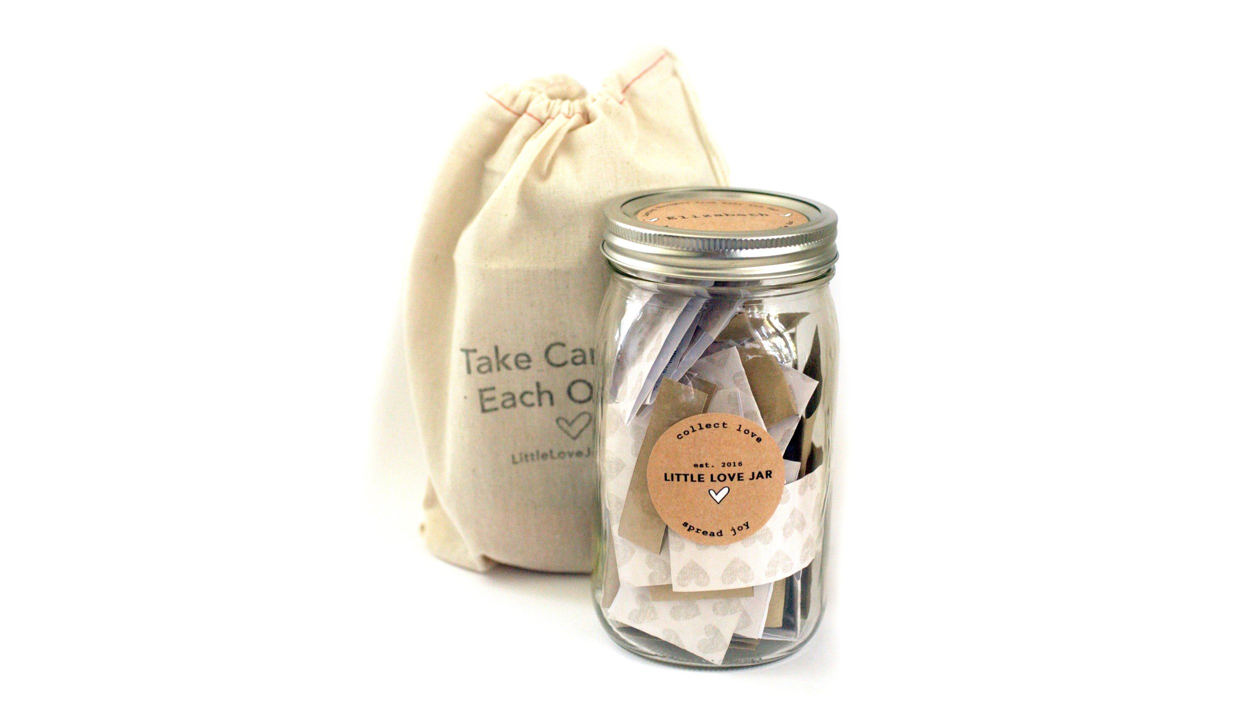 BEST. GIFT. EVER. - A jar overflowing with personalized, heartfelt wishesWe collect notes from you and your friends, put them in a beautiful jar and send it to your loved one. People say Little Love Jar is the most meaningful gift they've ever received- one they keep forever