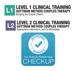 Bea is Level 2 trained in the Gottman Relationship MEthod. For information about Gottman marriage therapy,  click here.