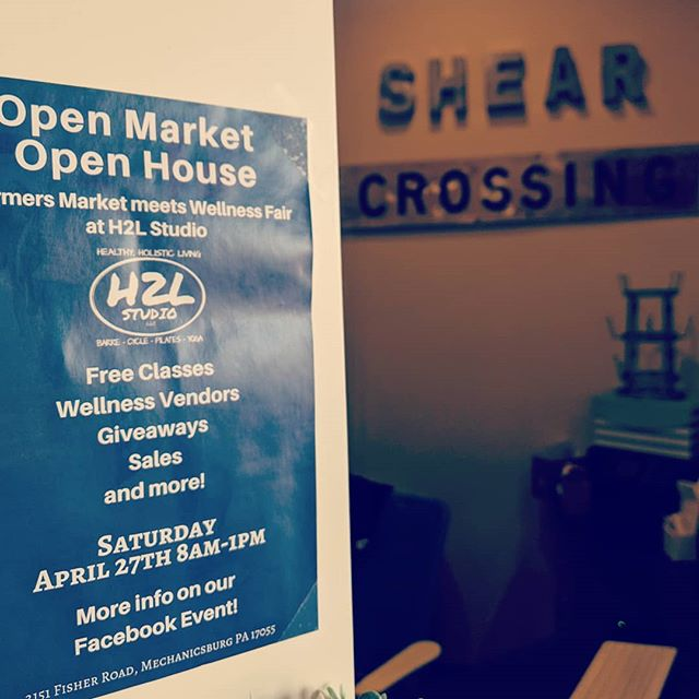 What are you doing Saturday? Come check out our neighbors open market! They have LOTS of amazing things going on, head over to @h2lstudio to see what all they have! & Stop by the shop and say hello as well! 👋 ⬇️ Comment your favorite product and tag a friend below for a free (special) gift when you stop by!!! #shearxings #centralpa #717 #centralpastylists  #mechanicsburgpastylist #mechanicsburgpa #mechanicsburgsalon  #cumberlandcounty #dillsburgpa #yorkpa #yorkpastylist #susquehannastyle #hburgmade #modernsalon #hair #licensedtocreate #phytodessus #framesiusa #camphill  @phytodessus @framesiusa @framesiofficial @h2lstudio