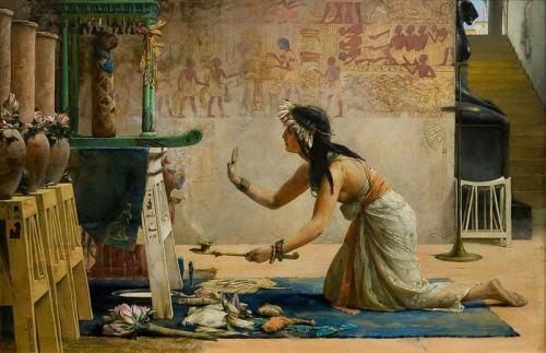 Egyptian Princess, John Waguelin 19th Century