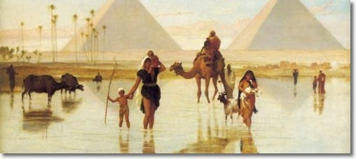 Flooding of the Nile 1895