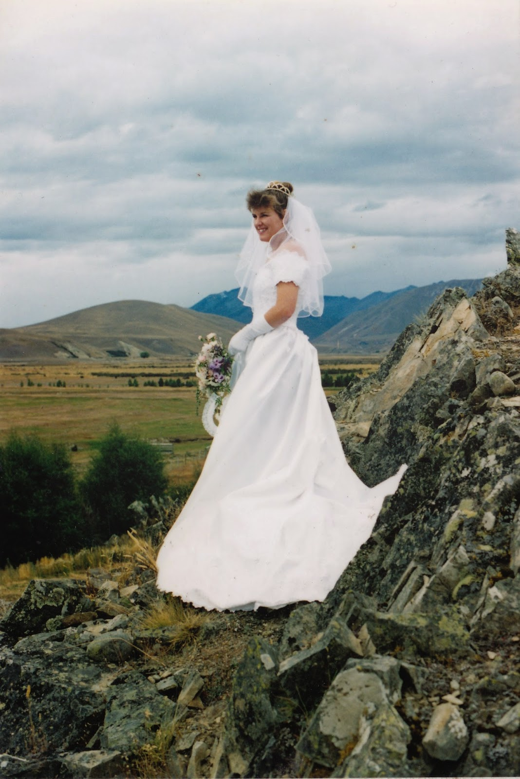 Gail - my eldest daughter - Nymph of the MacKenzie Country