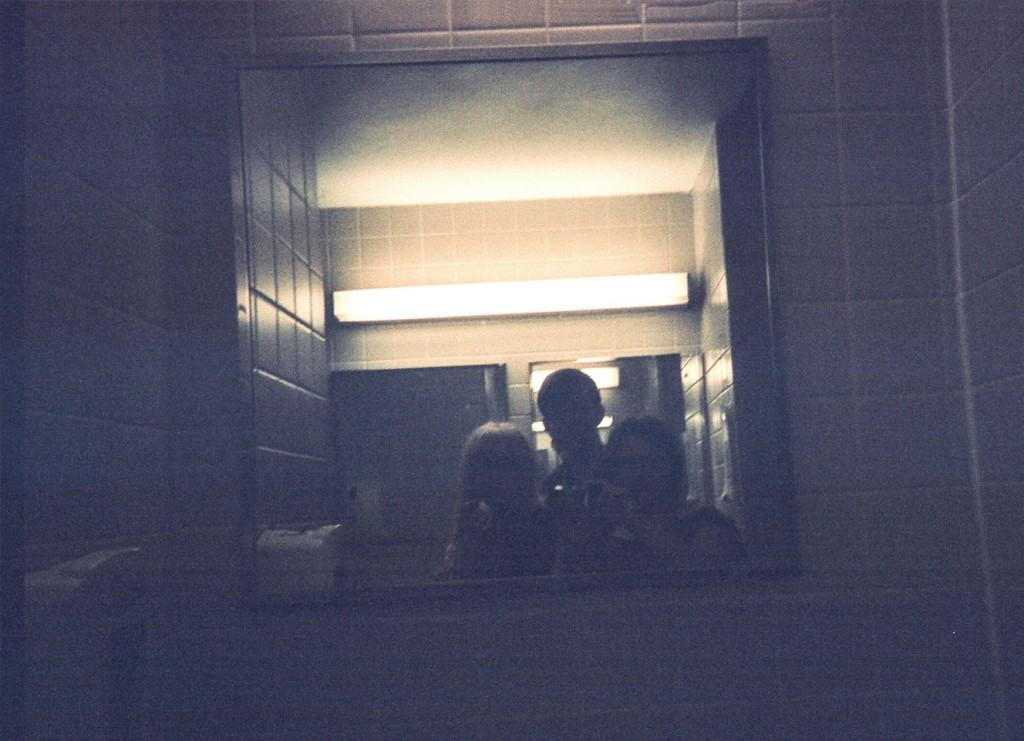 Photo by a Princeton student taken in a bathroom mirror.