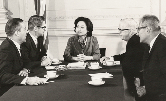 Image from the Women's Sports Foundation featuring Patsy T. Mink.