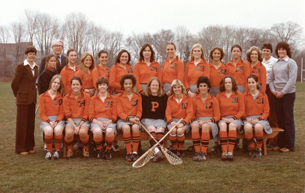 Princeton women's field hockey team.