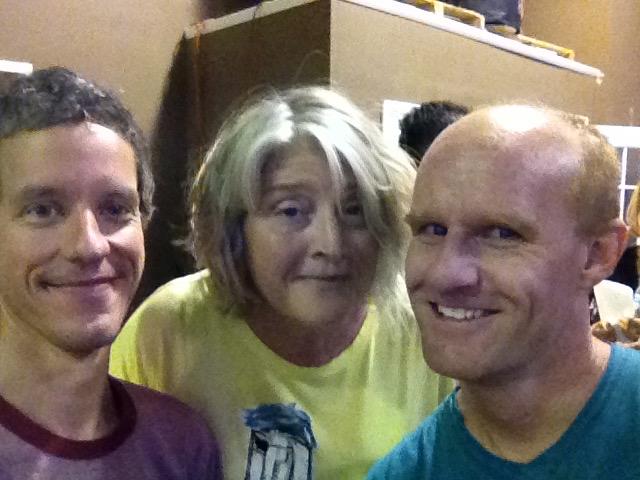 With Kim Richie & Dave Potts