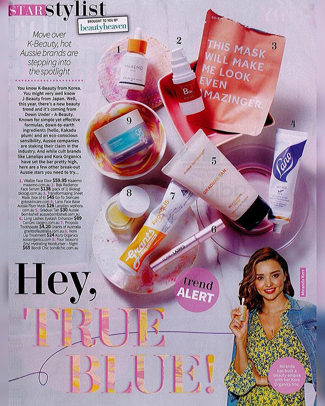 Move over K-beauty, the latest in trending products is non other than Australian beauty aka A-beauty. Featuring top picks including our very own @longlashes.au, featured in @nwmag #dearanzapr