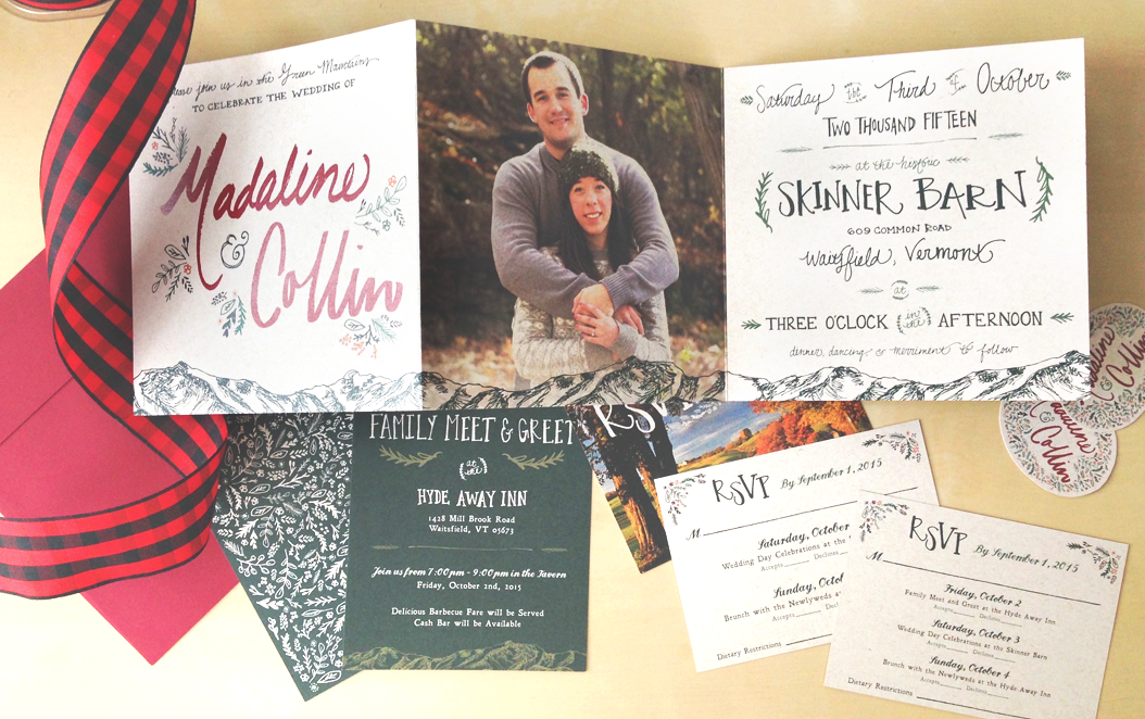 Our Wedding Invitation Suite