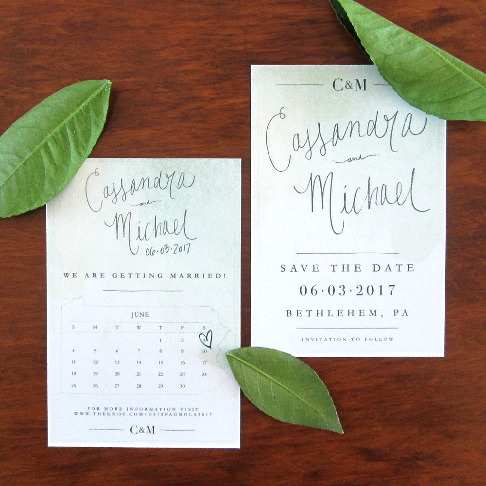 Cassie and Mike Save The Date 1
