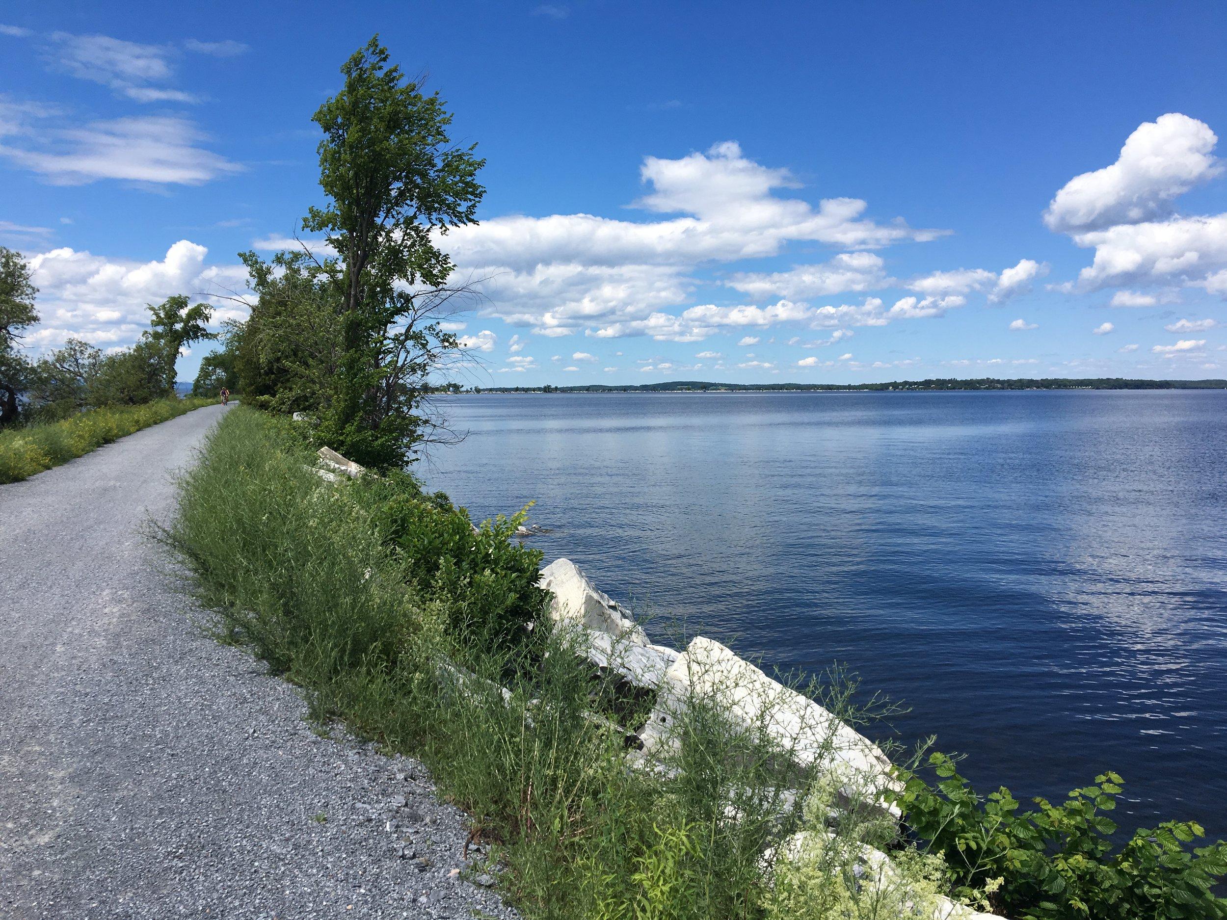 The Causeway, Lake Champlain, VT