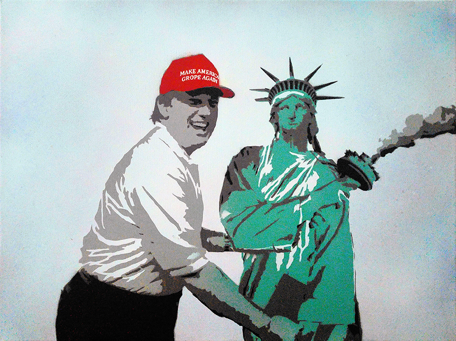 GRAB AMERICA BY THE PUSSY