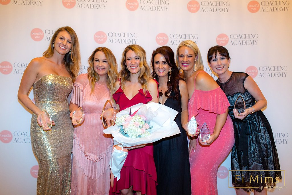 Beautiful You Coaching Academy Awards 2018 with all the award winners. Photo  Fi Mims Photography .