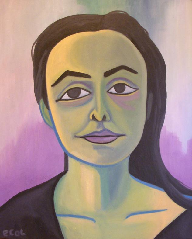 Georgia O'Keeffe  | oil on canvas