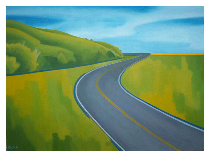High Road Capital Partners 1   | oil on canvas